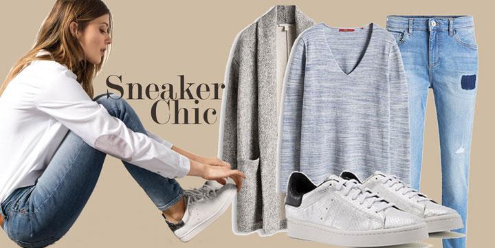 best service 950c4 d84a8 SeasideGlamour   Sneaker Chic & Sweater Weather
